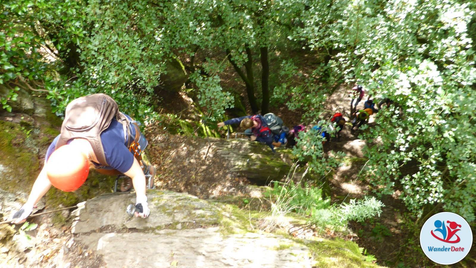 Klettersteig Rheinsteig Boppard : Der mittelrhein klettersteig späte vögel