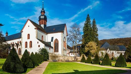 Kloster Eberbach - im Namen der Rose - wanderdate.de