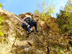 Klettersteigset Leihen : Klettern oder wandern im steinbruch schriesheim wanderdate.de